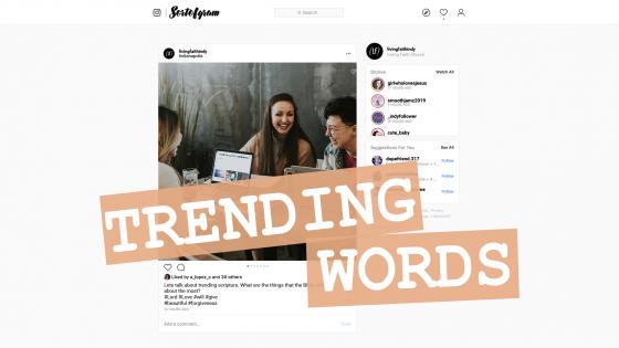 Trending Words